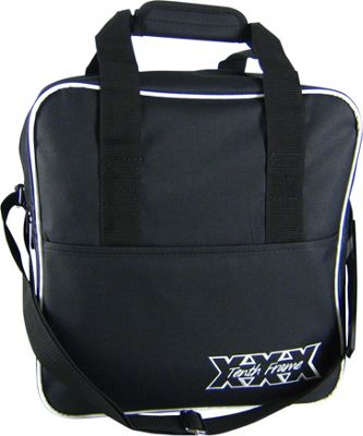 Tenth Frame Passion Single Tote Black - Tenth Frame Bowling Bags
