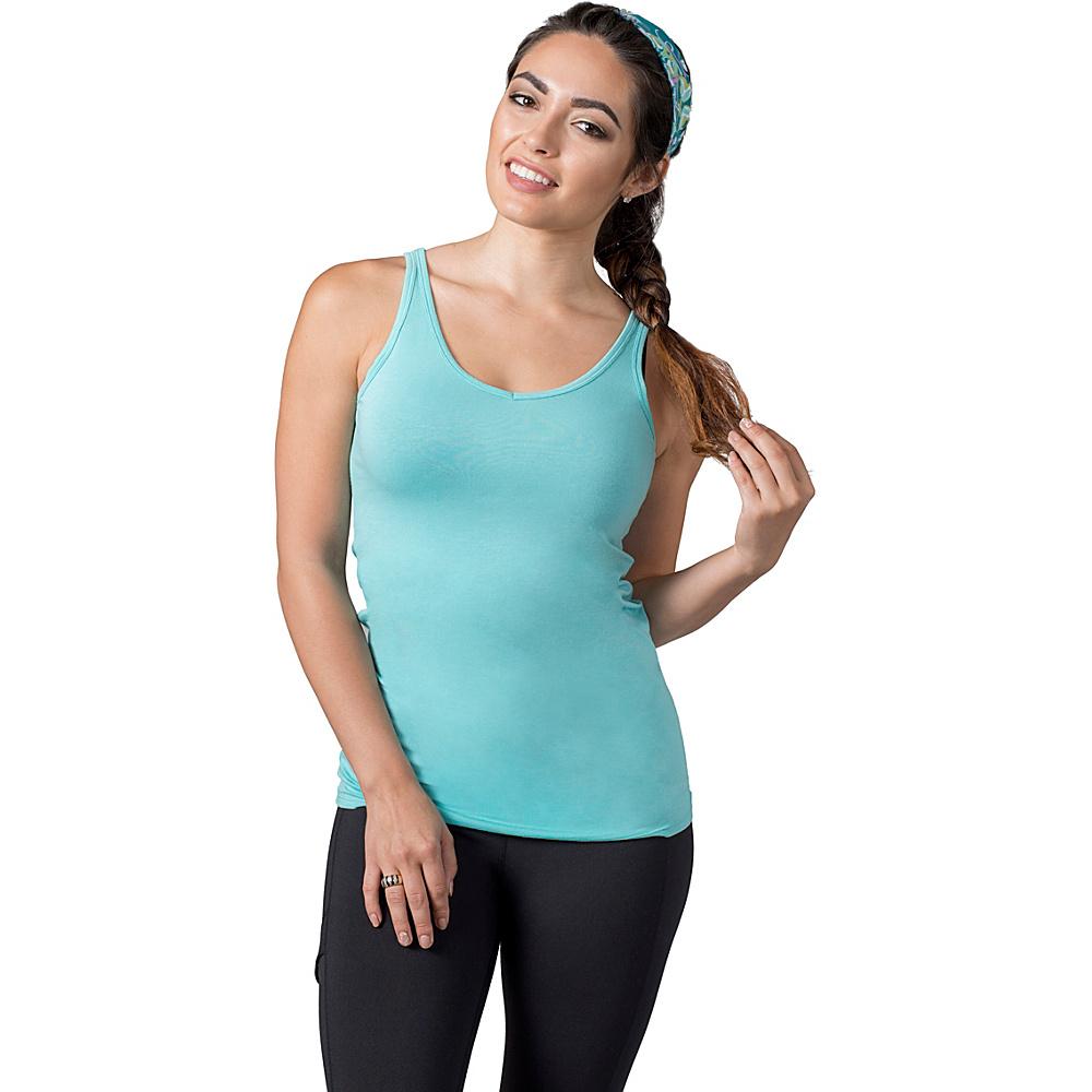 Soybu Lola Tank L - Waterfall - Soybu Womens Apparel - Apparel & Footwear, Women's Apparel