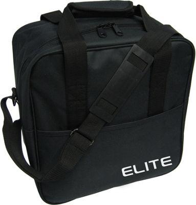 Elite Bowling Basic Single Tote Bowling Bag Black - Elite Bowling Bowling Bags