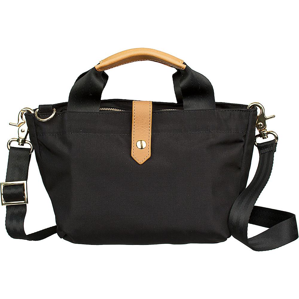 Boulevard Pandora Mini Crossbody Bag Black - Boulevard Fabric Handbags