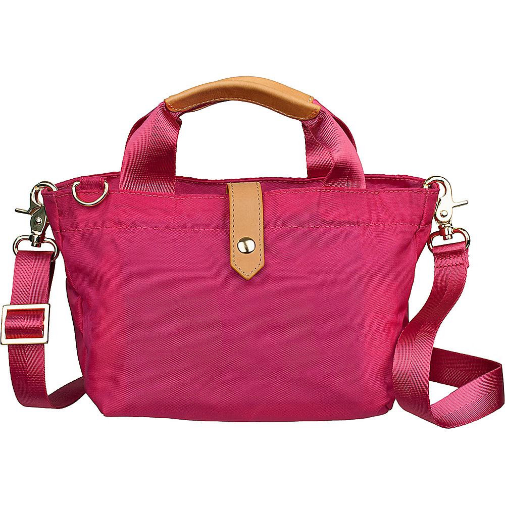 Boulevard Pandora Mini Crossbody Bag Berry - Boulevard Fabric Handbags