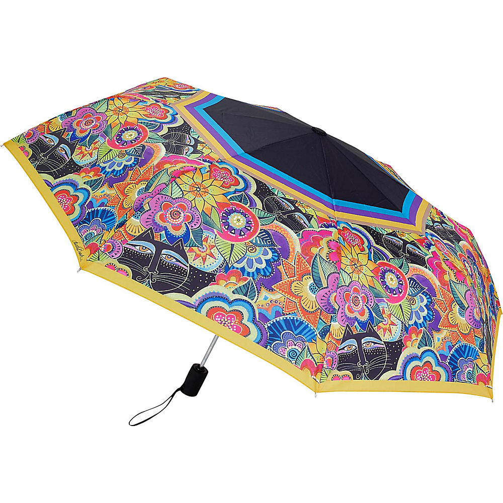 Laurel Burch Umbrella Carlotta Cats Laurel Burch Umbrellas and Rain Gear