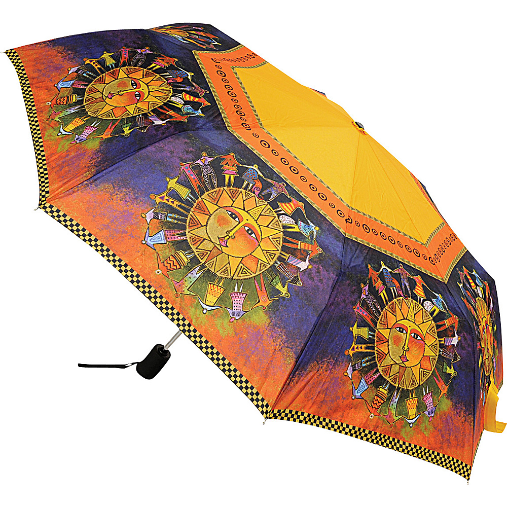 Laurel Burch Umbrella Harmony Under the Sun Laurel Burch Umbrellas and Rain Gear