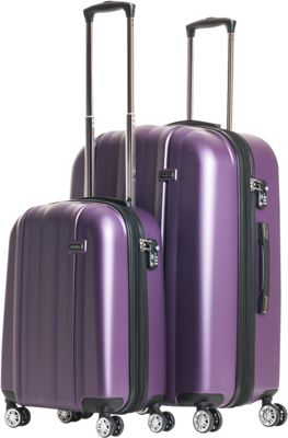 CalPak Winton 2-Piece Expandable Lightweight Luggage Luggage Set ...
