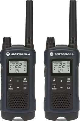 Motorola Solutions T460 Rechargeable 2pk 2-Way Radio Dark Blue - Motorola Solutions Electronic Accessories