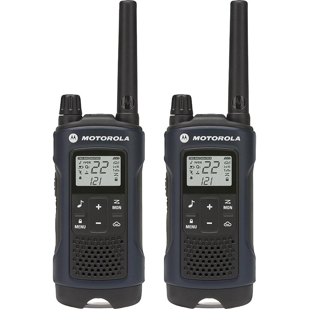 Motorola Solutions T460 Rechargeable 2pk 2-Way Radio Dark