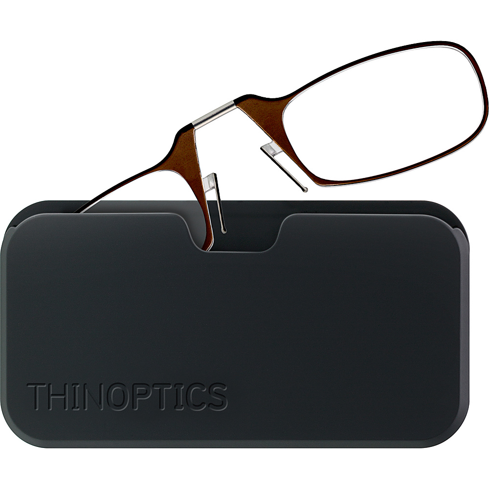 Glasses Frames For High Power : ThinOPTICS Universal Black Pod with High Power Glasses ...