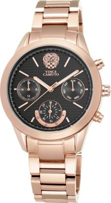 Vince Camuto Watches Ladies Rose Gold-Tone Chronograph Bracelet Watch Rose Gold - Vince Camuto Watches Watches