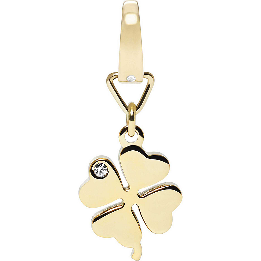 Fossil Four Leaf Clover Charm Gold - Fossil Other Fashion Accessories - Fashion Accessories, Other Fashion Accessories