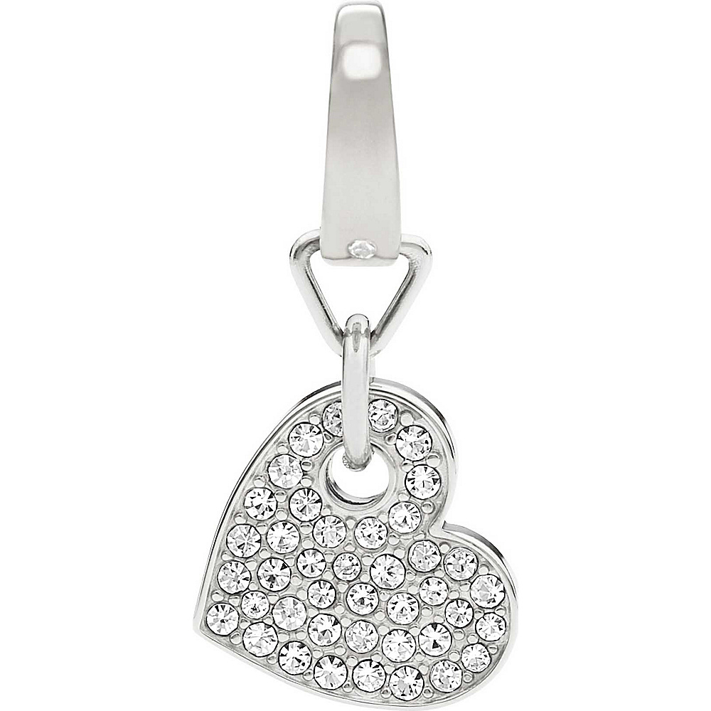 Fossil Glitz Heart Charm Silver - Fossil Other Fashion Accessories - Fashion Accessories, Other Fashion Accessories
