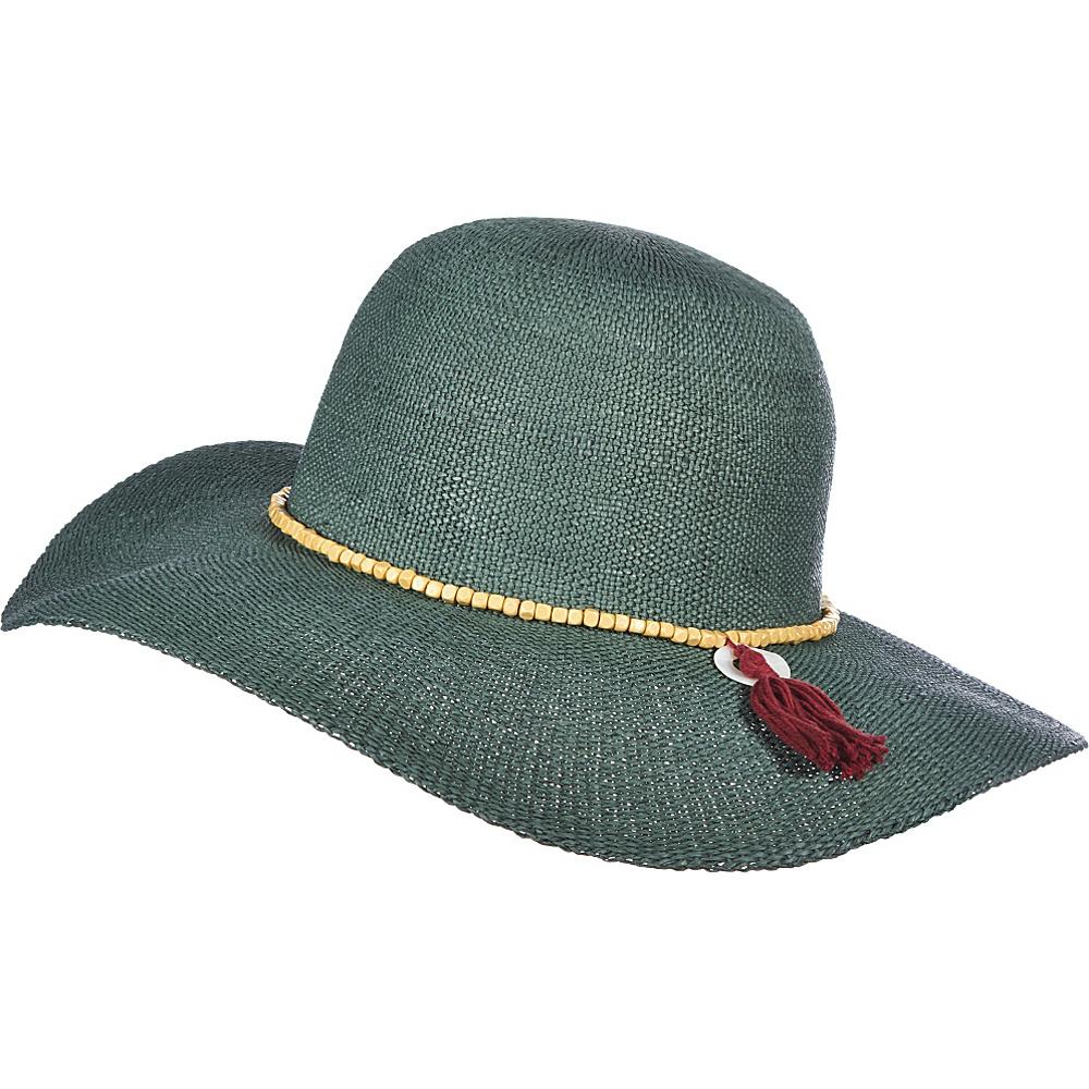 Scala Hats Round Brim Bangkok Toyo Hat Teal Scala Hats Hats Gloves Scarves