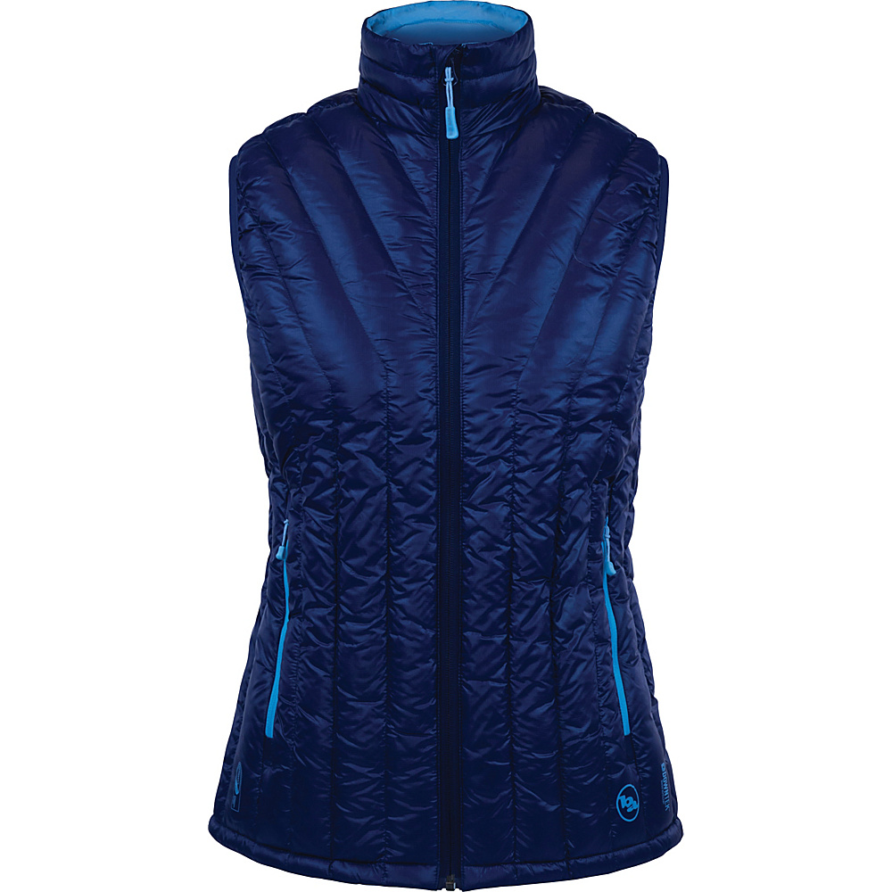 Big Agnes Womens Late Lunch Vest XL Estate Blue Blue Topaz Big Agnes Women s Apparel