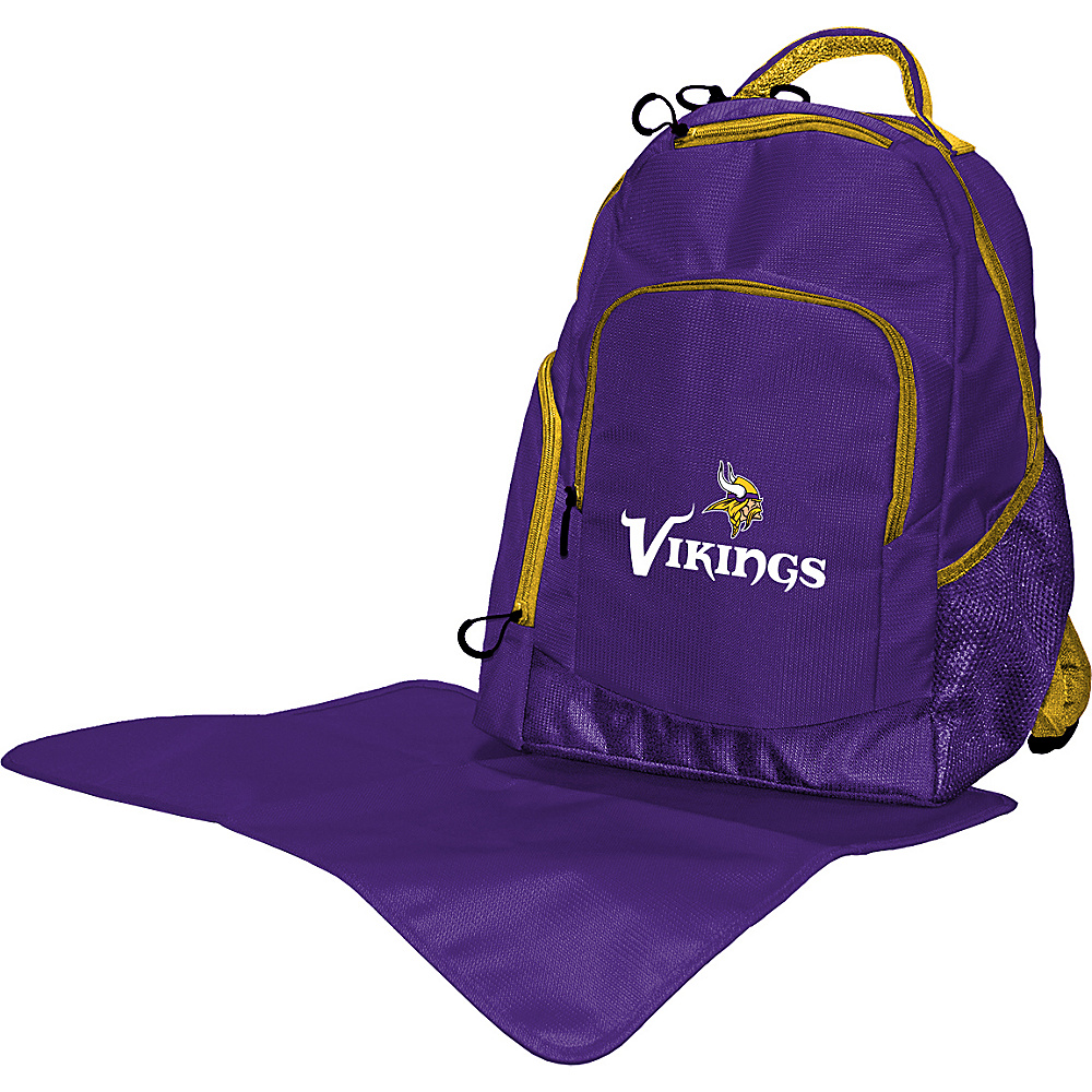 Lil Fan NFL Backpack Minnesota Vikings - Lil Fan Diaper Bags & Accessories