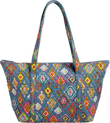 Vera Bradley Miller Bag Painted Medallions - Vera Bradley Fabric Handbags