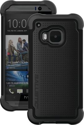 Image of Ballistic HTC One (m9) Tough Jacket Case Black - Ballistic Personal Electronic Cases