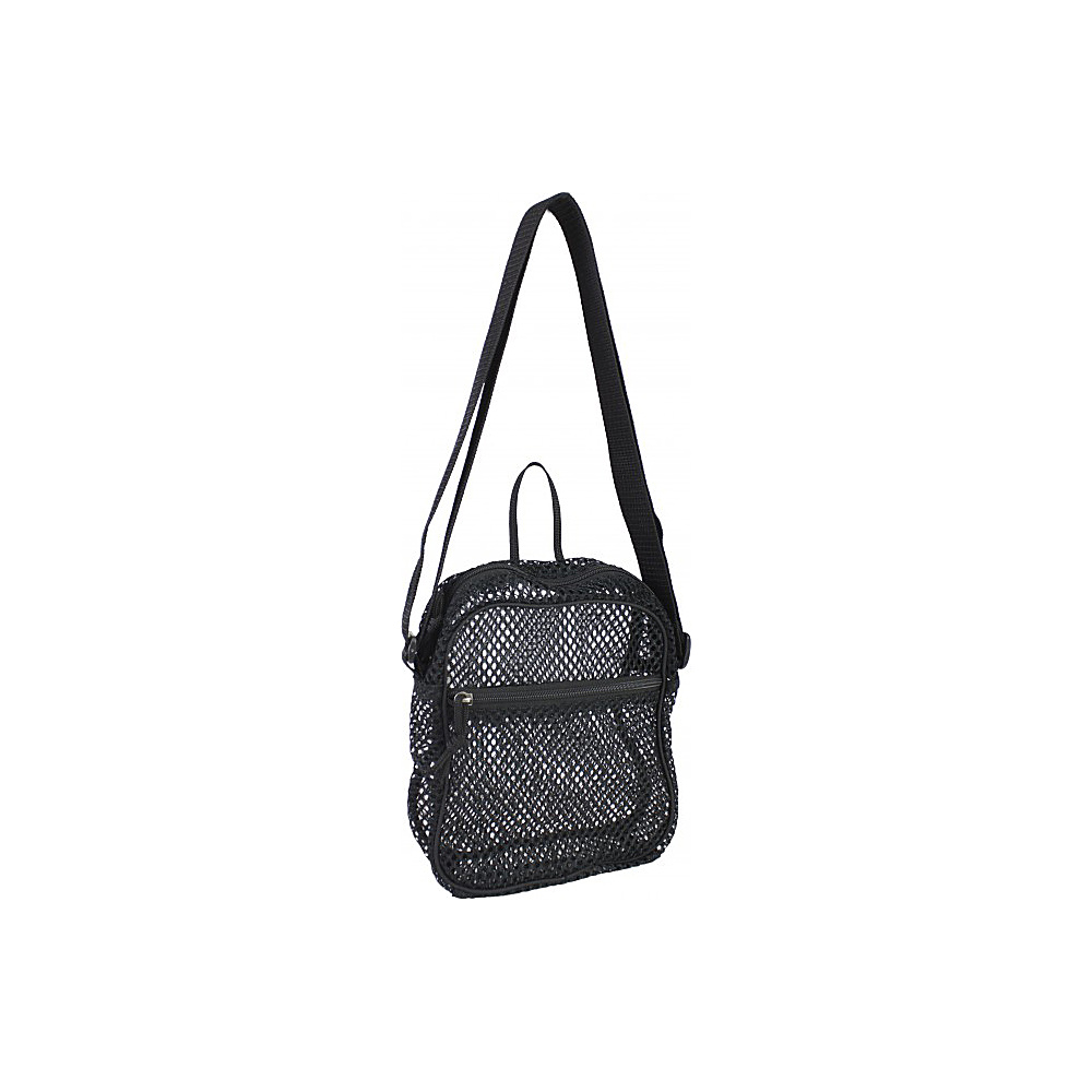 Eastsport Mesh Gear Bag Black Eastsport Slings