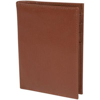 Access Denied RFID Blocking Genuine Leather Passport Holder Wallet Tan Pebble - Access Denied Travel Wallets