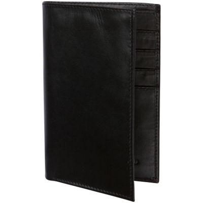 Access Denied RFID Blocking Genuine Leather Passport Holder Wallet Black - Access Denied Travel Wallets