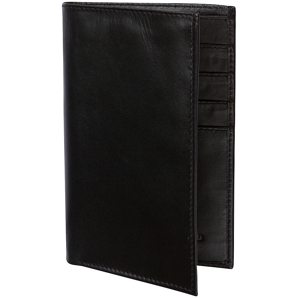 Access Denied RFID Blocking Genuine Leather Passport Holder Wallet Black Access Denied Travel Wallets