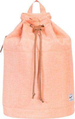 Herschel Supply Co. Hanson Backpack Nectarine Crosshatch Rubber - Herschel Supply Co. Everyday Backpacks