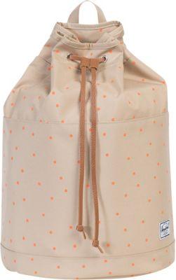 Herschel Supply Co. Hanson Backpack Khaki/Nectarine Scatter/Tan - Herschel Supply Co. Everyday Backpacks