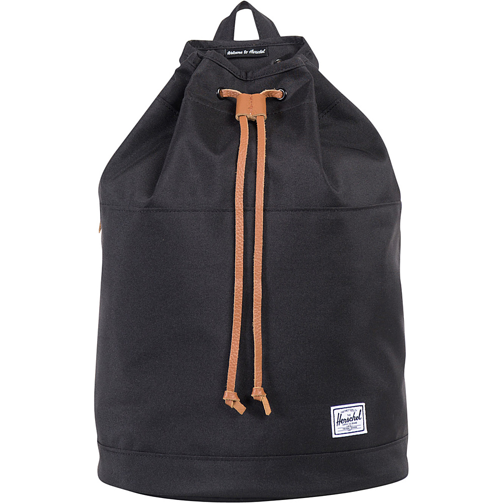 Herschel Supply Co. Hanson Backpack Black 300D Herschel Supply Co. Everyday Backpacks