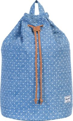Herschel Supply Co. Hanson Backpack Limoges Crosshatch/White Polka Dot - Herschel Supply Co. Everyday Backpacks