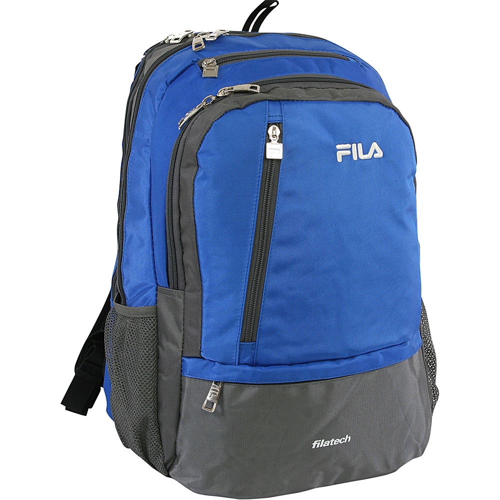 Fila Duel Tablet and Laptop Backpack Blue - Fila Business & Laptop Backpacks