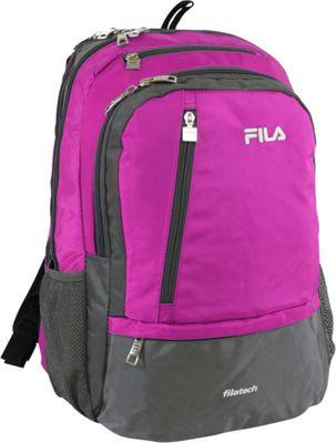 Fila Duel Tablet and Laptop Backpack Pink - Fila Business & Laptop Backpacks