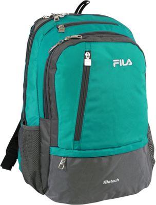 Fila Duel Tablet and Laptop Backpack Teal - Fila Business & Laptop Backpacks