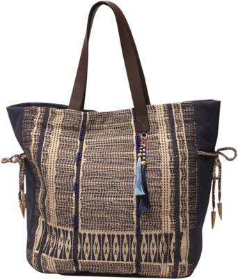 Image of Ale by Alessandra Blue Skies Tote Khaki/Blue - Ale by Alessandra All-Purpose Totes