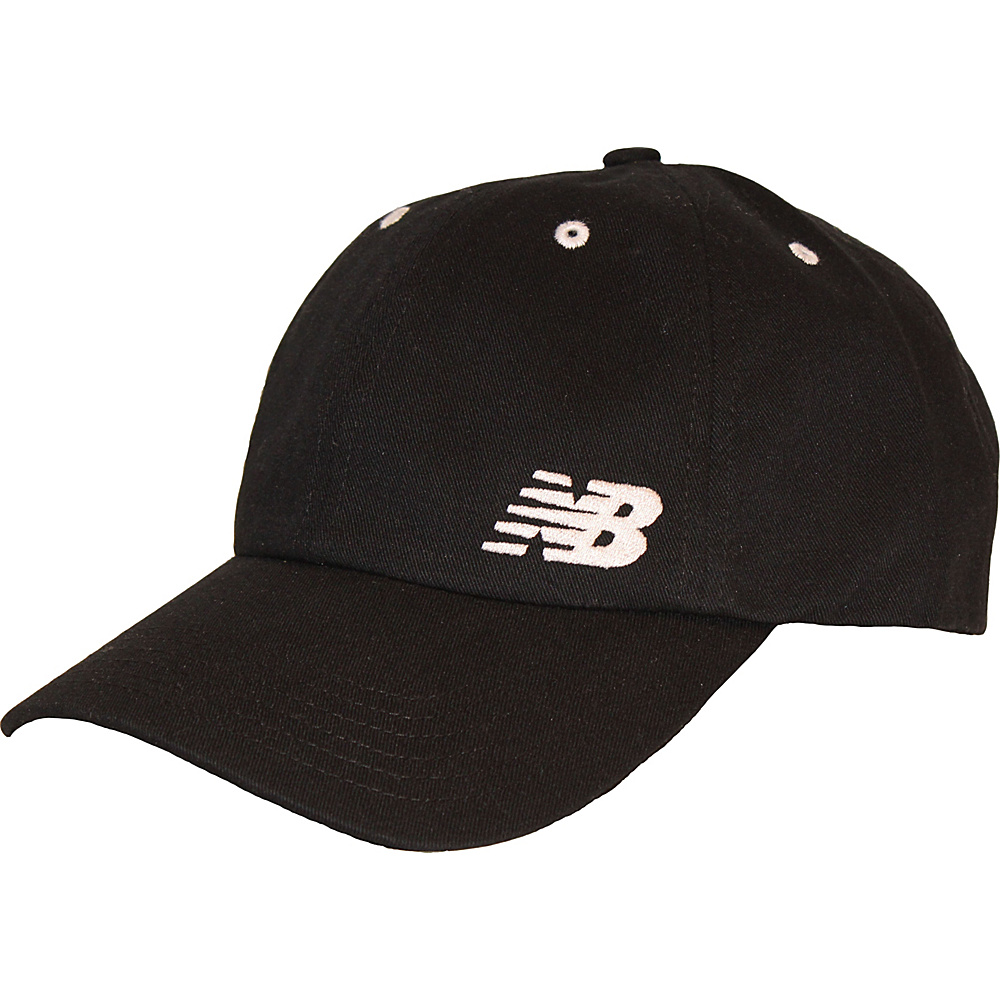new balance 6 panel curved brim cap 2 colors hats gloves. Black Bedroom Furniture Sets. Home Design Ideas