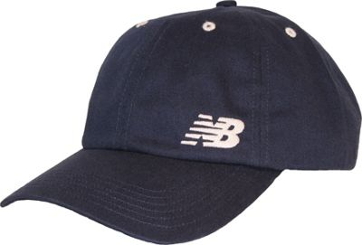 New Balance 6-Panel Curved Brim Cap One Size - Navy - New Balance Hats/Gloves/Scarves