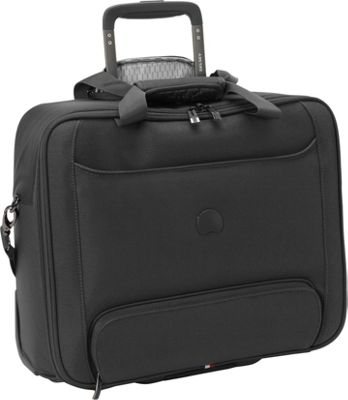Delsey Chatillon Trolley Tote Black - Delsey Luggage Totes and Satchels