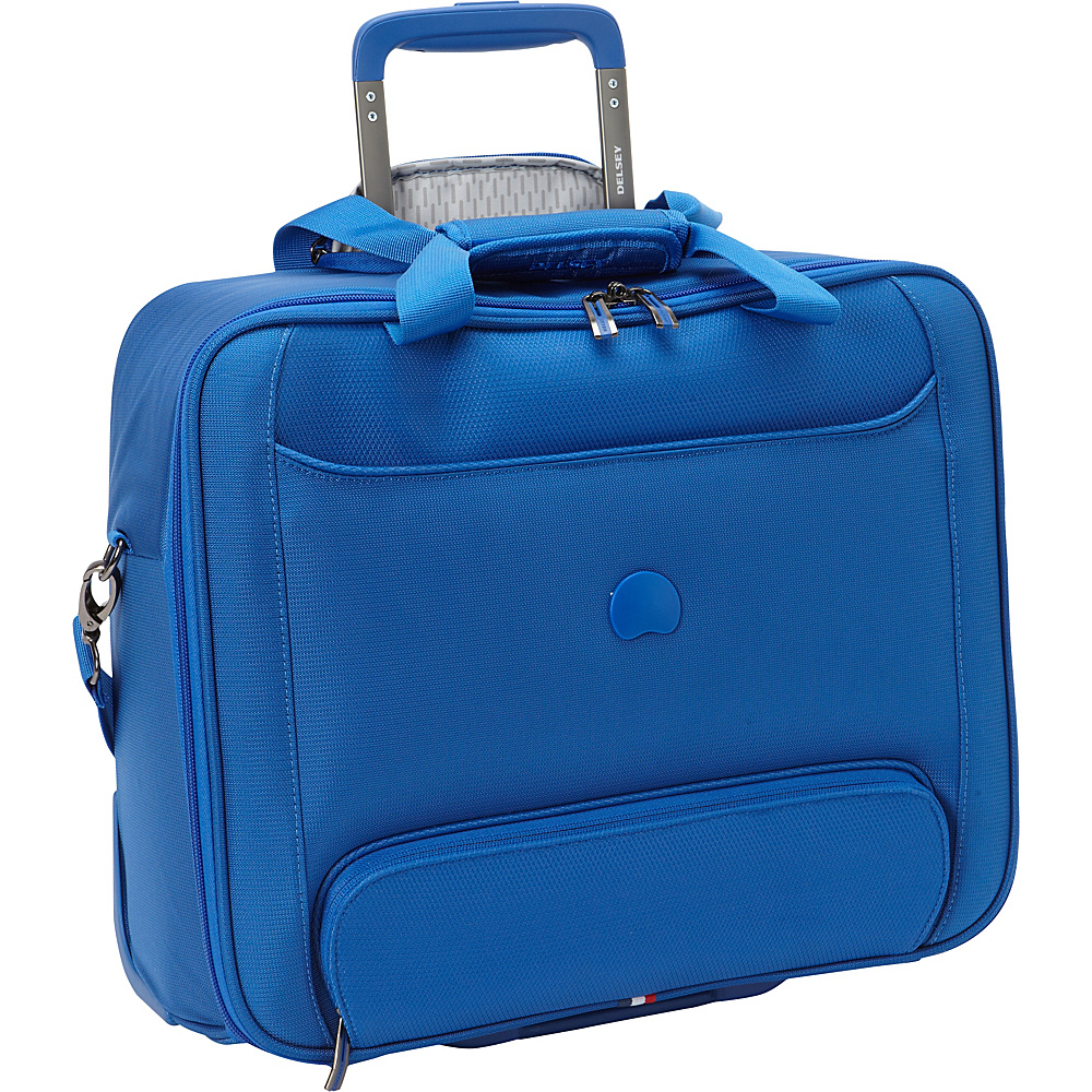 Delsey Chatillon Trolley Tote Royal Blue Delsey Luggage Totes and Satchels