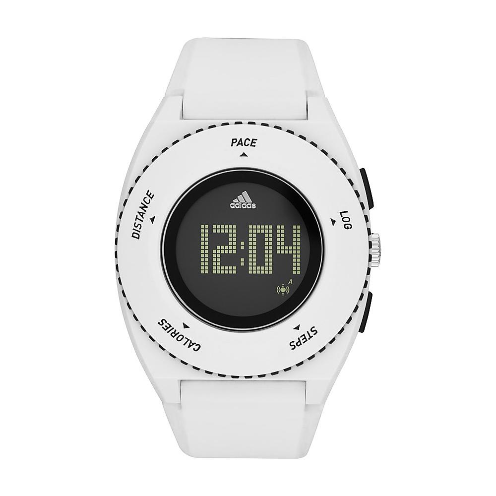adidas watches Sprung Digital Silicone Watch White with Black - adidas watches Watches
