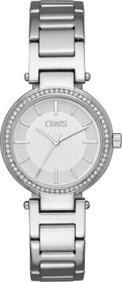 Chaps Alanis Stainless-Steel Three-Hand Watch Silver - Chaps Watches