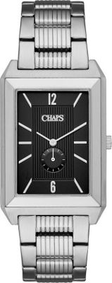 Chaps Affiliate Stainless-Steel Two-Hand Watch Silver - Chaps Watches