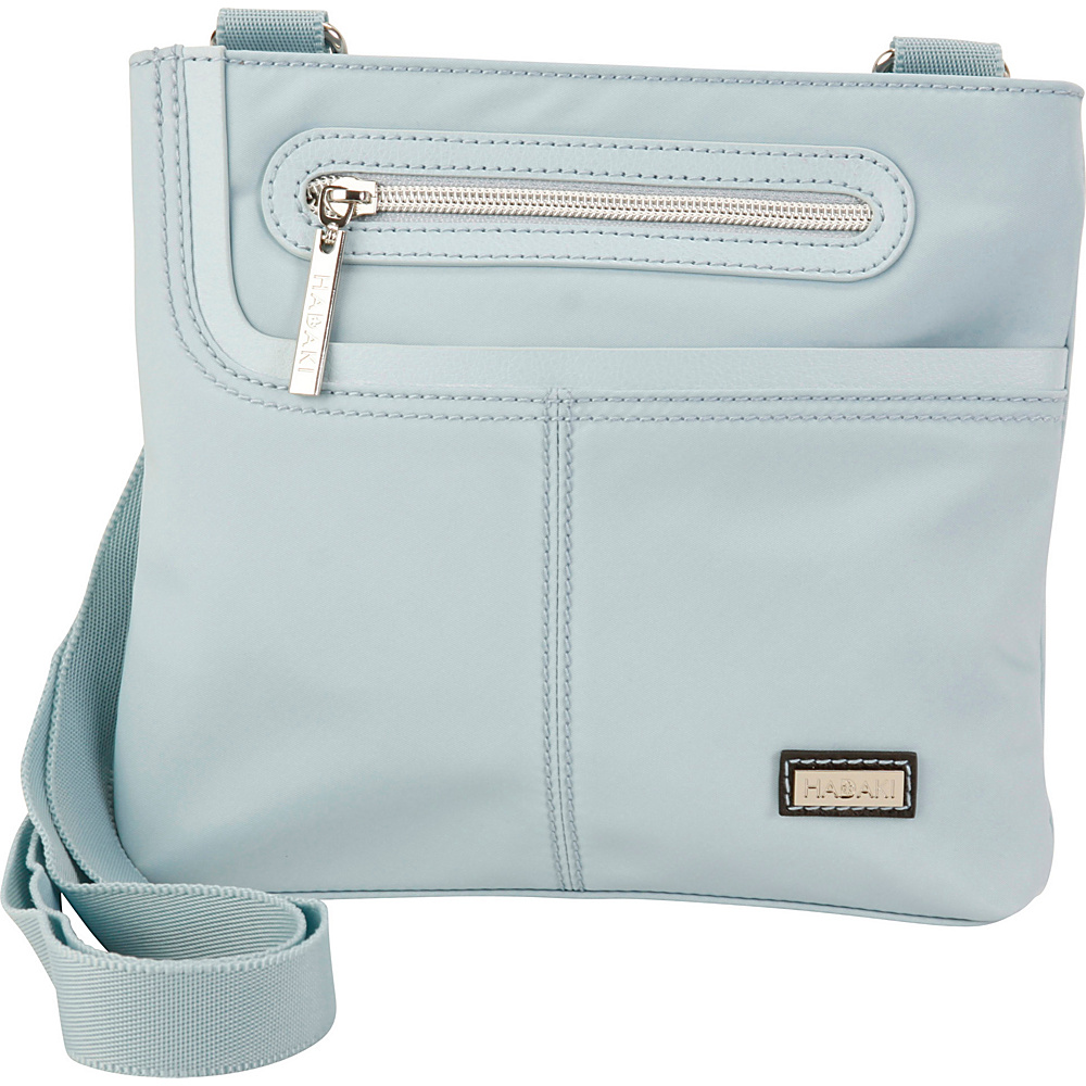 Hadaki Mini Me Crossbody Gray - Hadaki Fabric Handbags - Handbags, Fabric Handbags