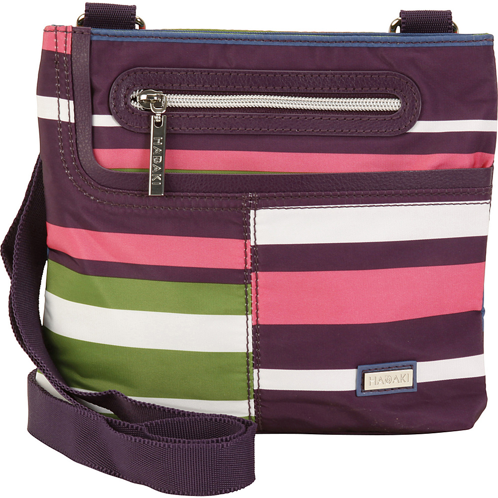Hadaki Mini Me Crossbody Stripes - Hadaki Fabric Handbags - Handbags, Fabric Handbags