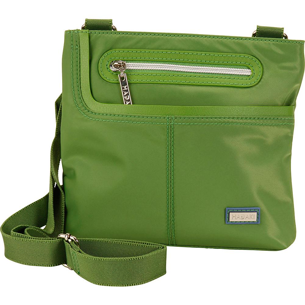 Hadaki Mini Me Crossbody Treetop Green - Hadaki Fabric Handbags - Handbags, Fabric Handbags