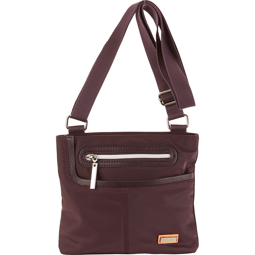 Hadaki Mini Me Crossbody Plum Perfect Solid - Hadaki Fabric Handbags - Handbags, Fabric Handbags