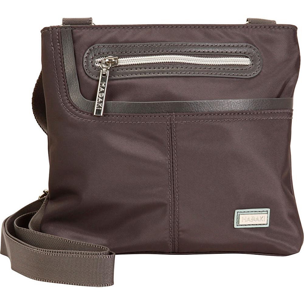 Hadaki Mini Me Crossbody Asphalt - Hadaki Fabric Handbags - Handbags, Fabric Handbags