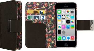 EMPIRE Klix Klutch Designer Wallet Case iPhone 4S Vintage Floral - EMPIRE Electronic Cases