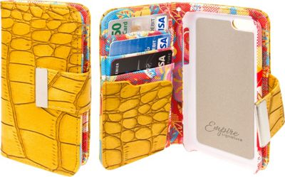 EMPIRE Klix Klutch Designer Wallet Case iPhone 4S Vintage Flower Pop! - EMPIRE Electronic Cases