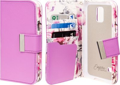 EMPIRE Klix Klutch Designer Wallet Case iPhone 4S Pink Faded Flowers - EMPIRE Electronic Cases