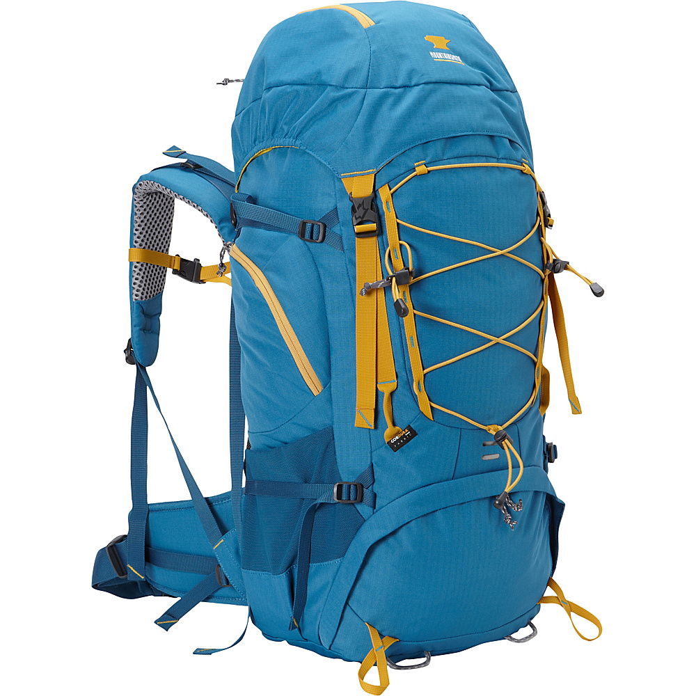 Mountainsmith Pursuit 50 Hiking Backpack Glacier Blue Mountainsmith Day Hiking Backpacks