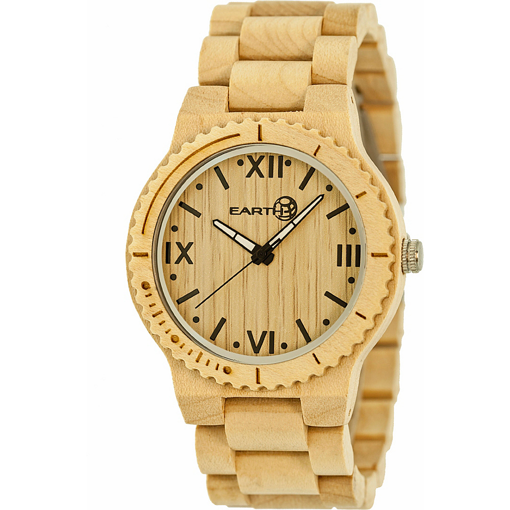Earth Wood Bighorn Wood Unisex Watch Khaki Tan Earth Wood Watches