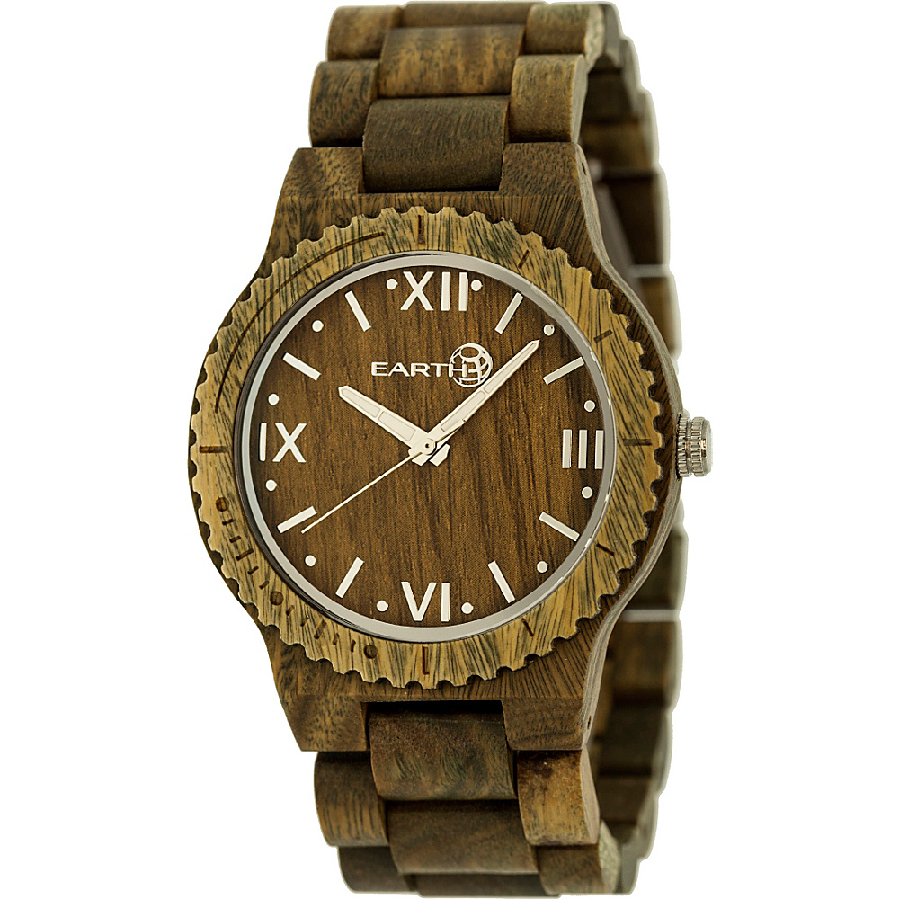 Earth Wood Bighorn Wood Unisex Watch Olive Earth Wood Watches