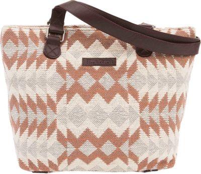 Bella Taylor Shoulder Tote Romy White - Bella Taylor Fabric Handbags